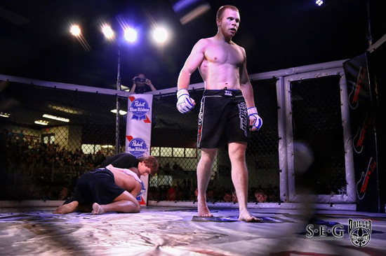 Caleb Merth Wins by TKO in Detroit Lakes, MN – The Cellar
