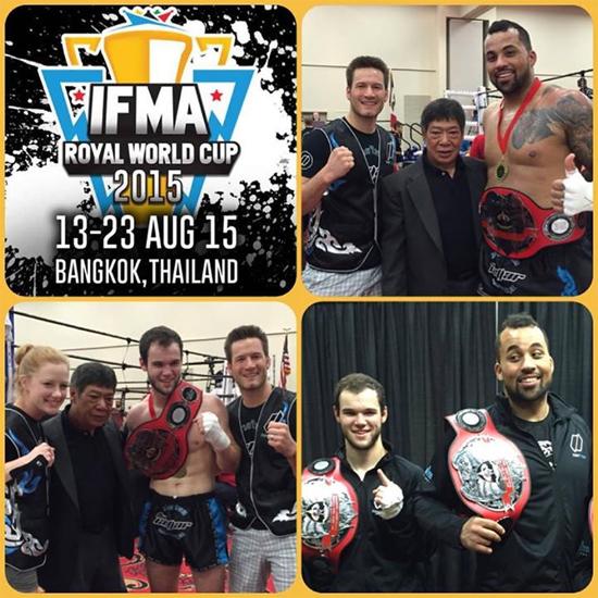 Antonio Dvorak Ian Greer Muay Thai Team USA