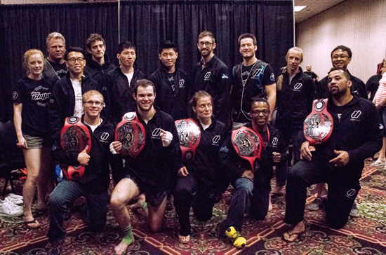 2015 TBA-SA Muay Thai Classic Champions