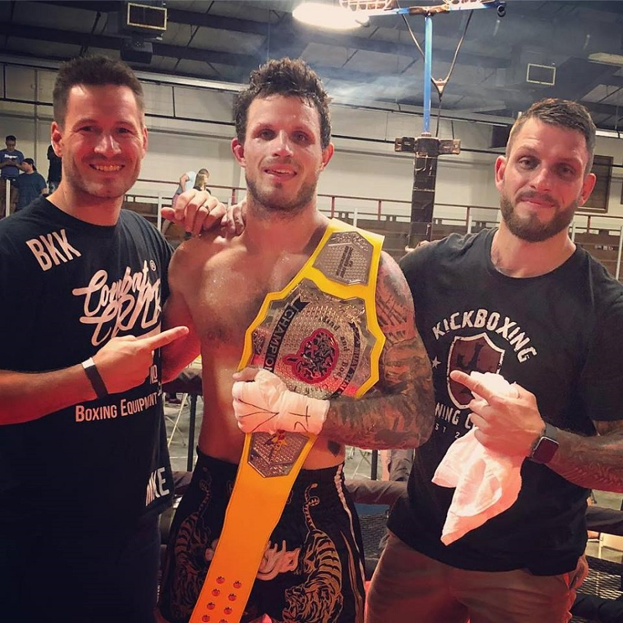 derek varin becomes muay thai champion with chris cichon in his corner