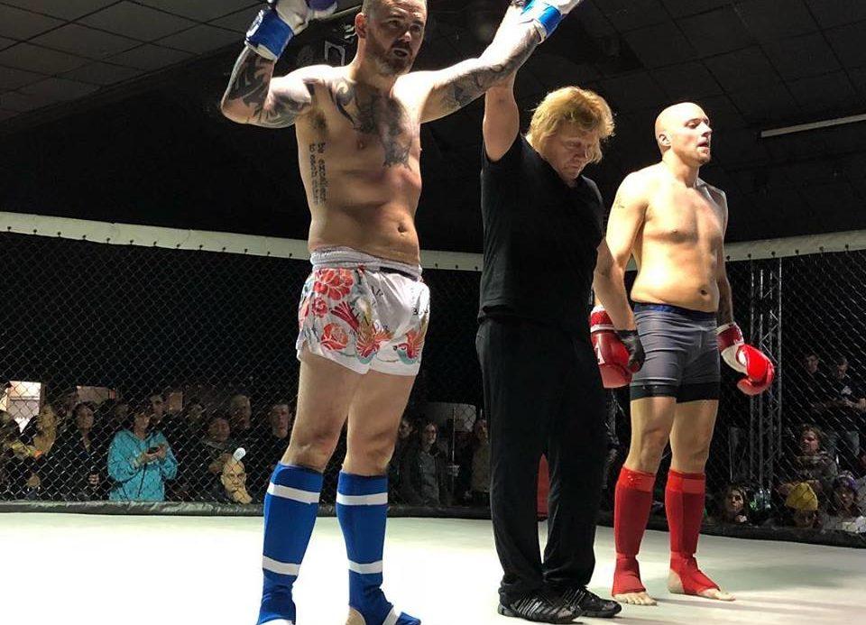 Austin Brown wins via TKO
